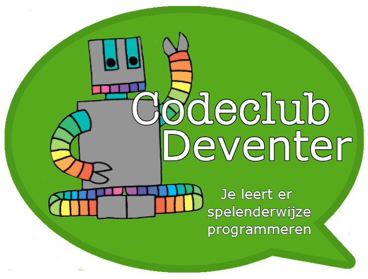 Link naar info Codeclub Deventer